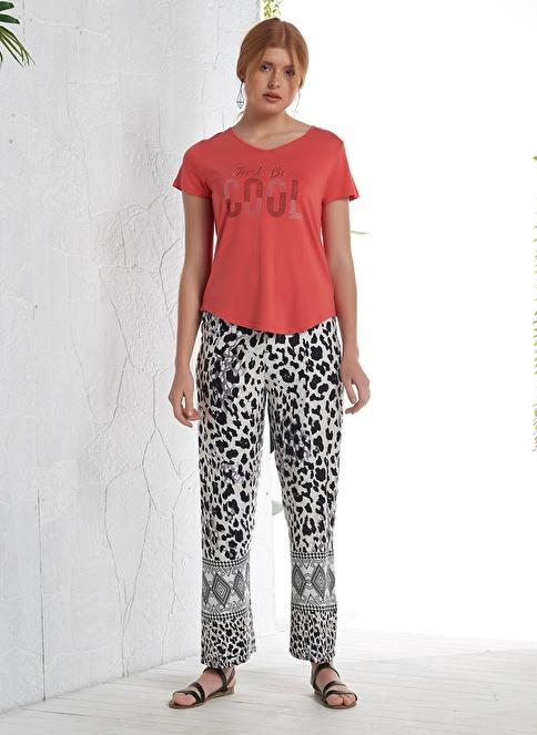 Gizzey Pijama Takım Kırmızı